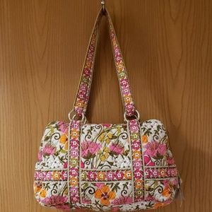 Vera Bradley squared away bag in tea garden NWOT